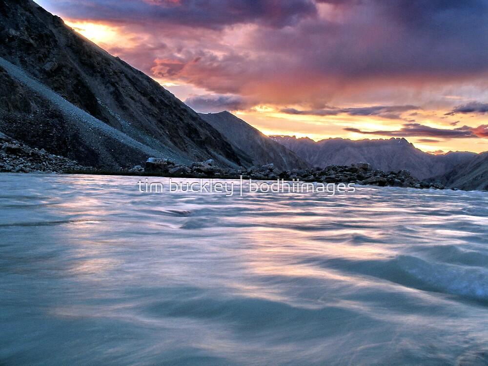 ladakhi sunset. nubra valley, ladakh, india by tim buckley | bodhiimages