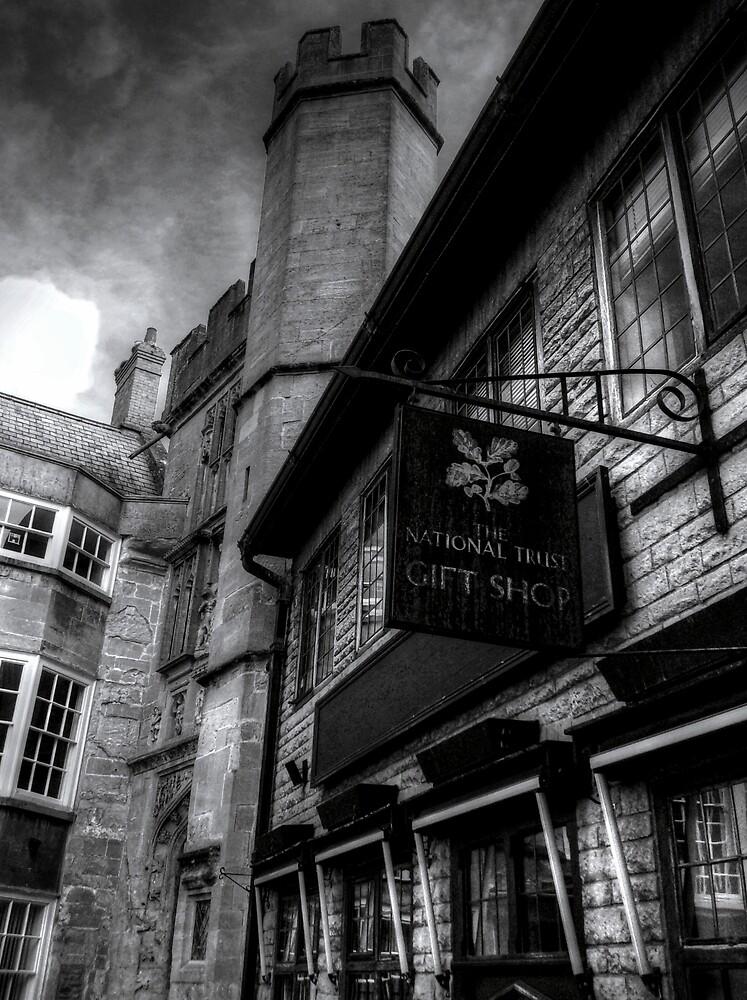 National Trust Gift Shop Bath Somerset England by Ian Mooney