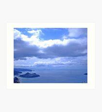 Ocean View Tairua from Pauanui Art Print