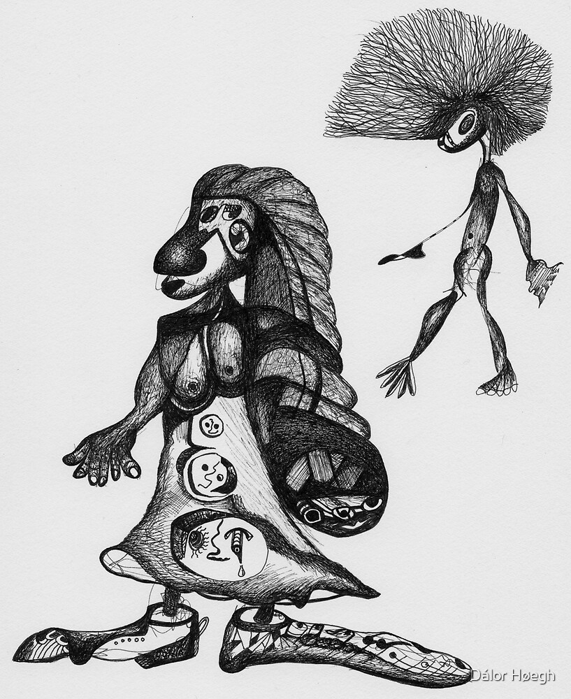 Chamana e Hijo by Dálor Høegh