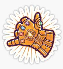Shaka Gauntlet Sticker