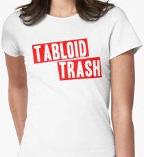 Tabloid Trash Women's Fitted T-Shirt