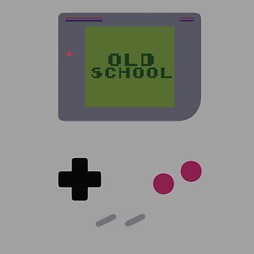 Old School Game Boy by mymainmandeebo
