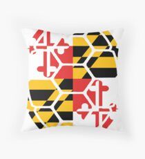 Maryland Flag Shell Dekokissen