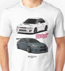 STi (white & green) Unisex T-Shirt