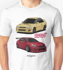 STi (gold & red) Unisex T-Shirt