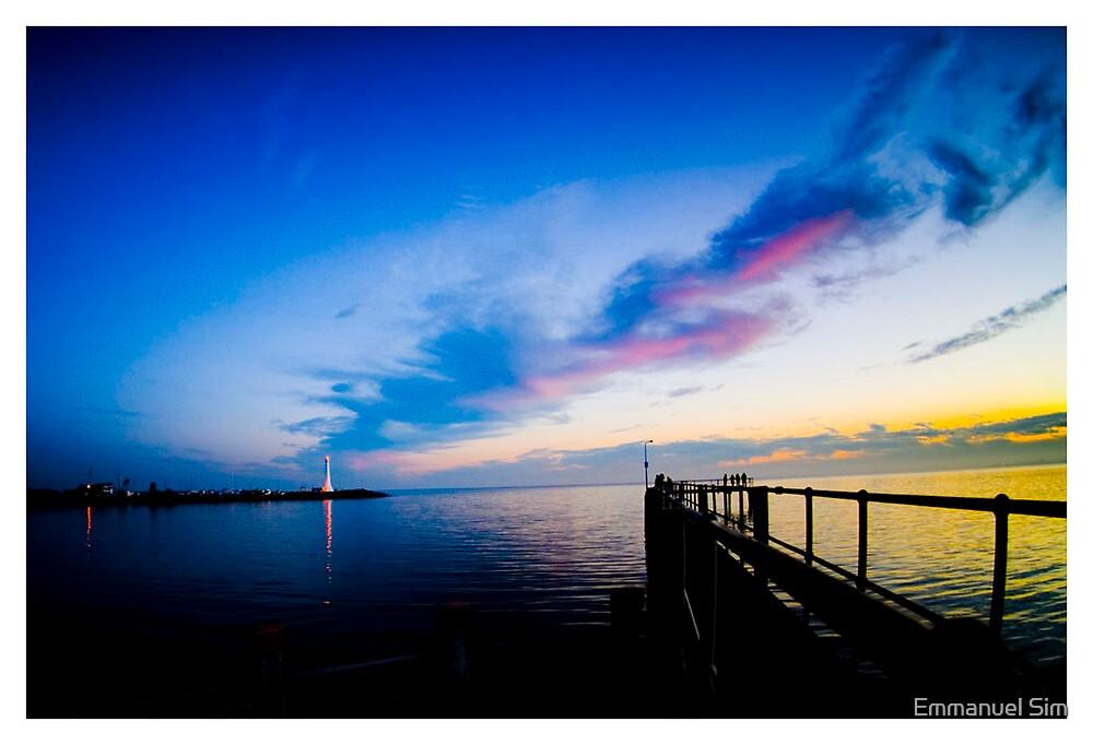 St Kilda's at Sunset by Emmanuel Sim