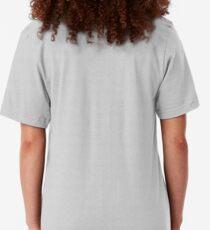Walt Grace's Submarine X Emoji of a Wave | Black Version Slim Fit T-Shirt