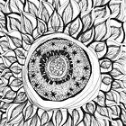 Sonnenblume von inkedinred