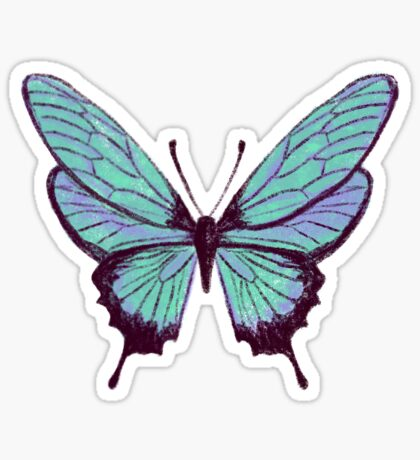 Butterfly Pattern Sticker