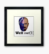Well meth Framed Print