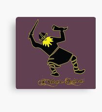 Humourous and Amusing Viking  Canvas Print