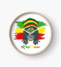 Rastafari-Schädel Uhr