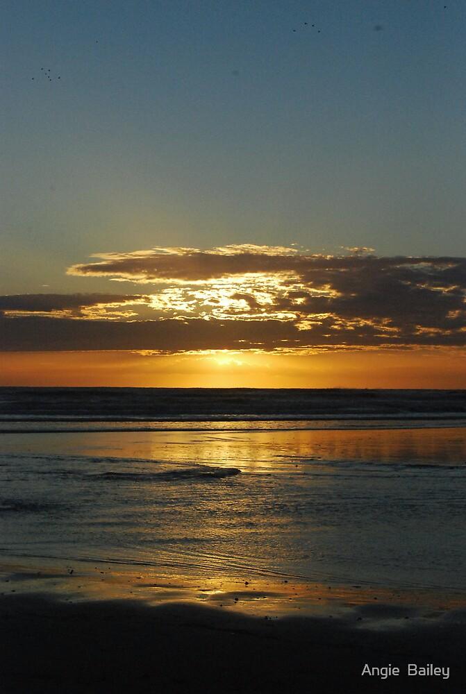Anzac Day Sunrise by Angie  Bailey