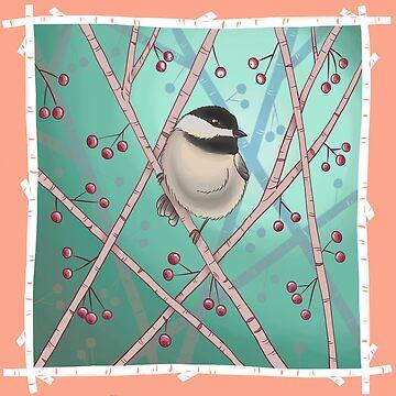 Sweet Chickadee by Breeze-Kruse