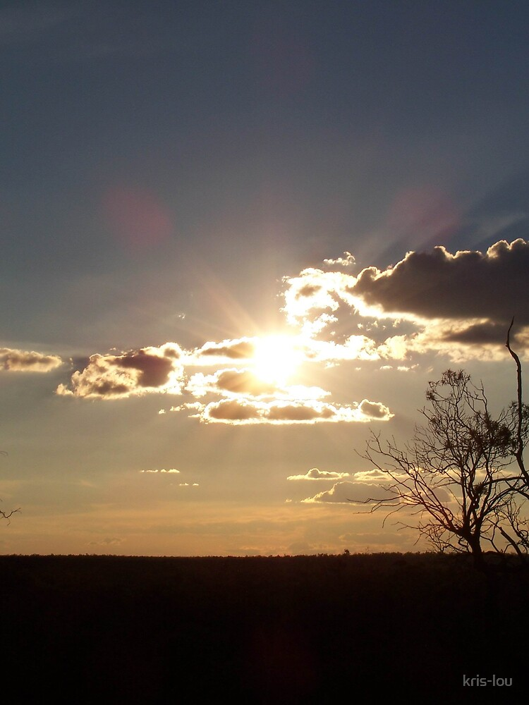 setting sunlight by kris-lou