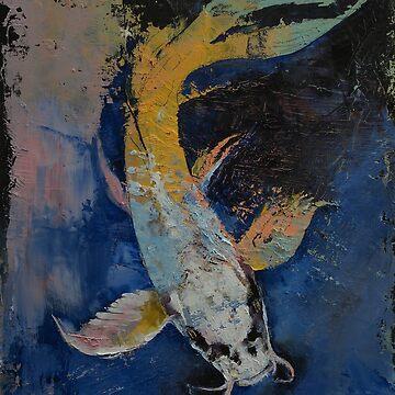 Dragon Koi by michaelcreese