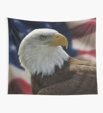 American Bald Eagle Wall Tapestry