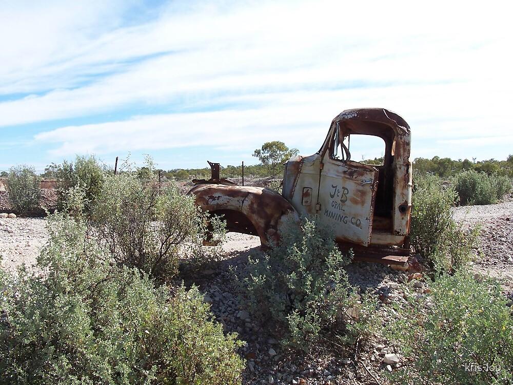 Old mining car by kris-lou