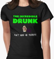 The Incredible Drunk (dark shirts) Women's Fitted T-Shirt