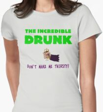 The Incredible Drunk (light shirts) Women's Fitted T-Shirt