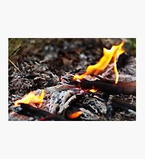 Fire Photographic Print