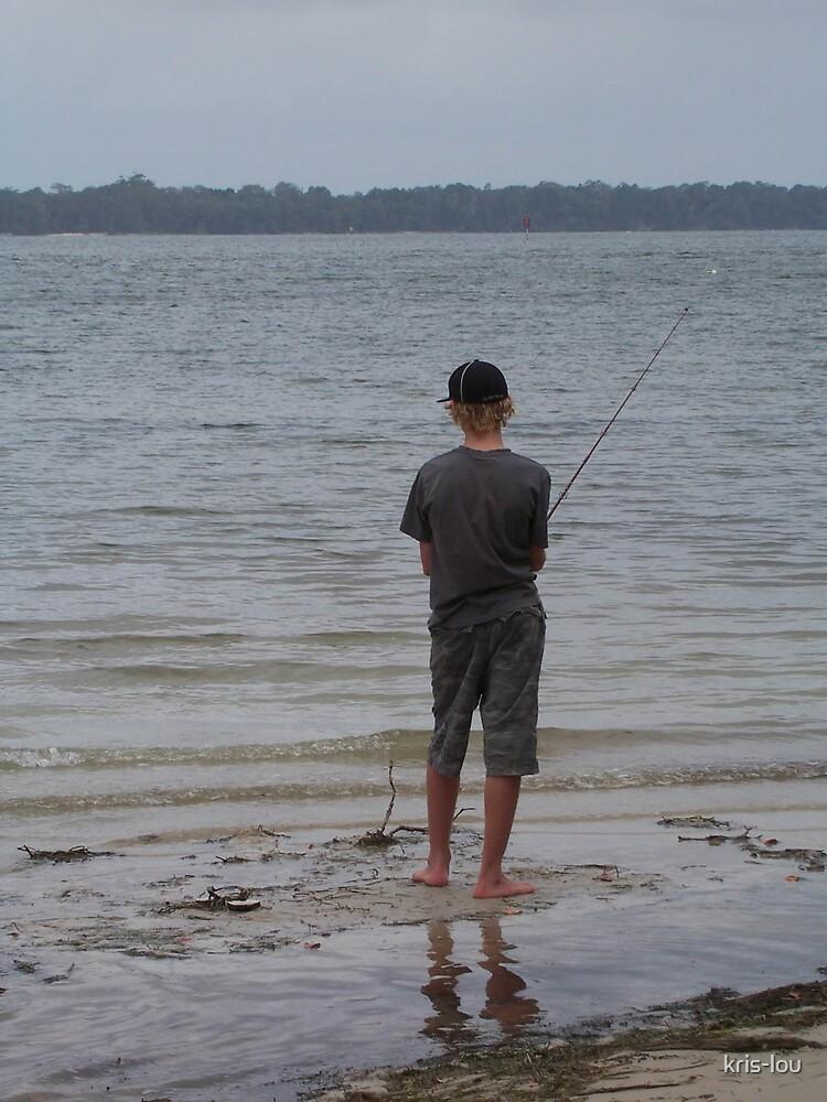 Fishing Boy by kris-lou