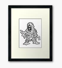 DAIKAIJU COUNTESS Framed Print