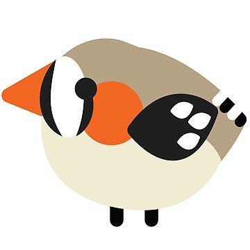 Zebra Finch - Wild Birb by BountifulBean