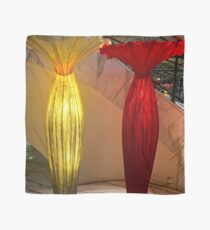 Red And Yellow Vase Scarf