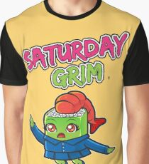 Saturday Grim - Sueshe Graphic T-Shirt