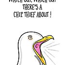 Chip Thief ! by Adam Regester
