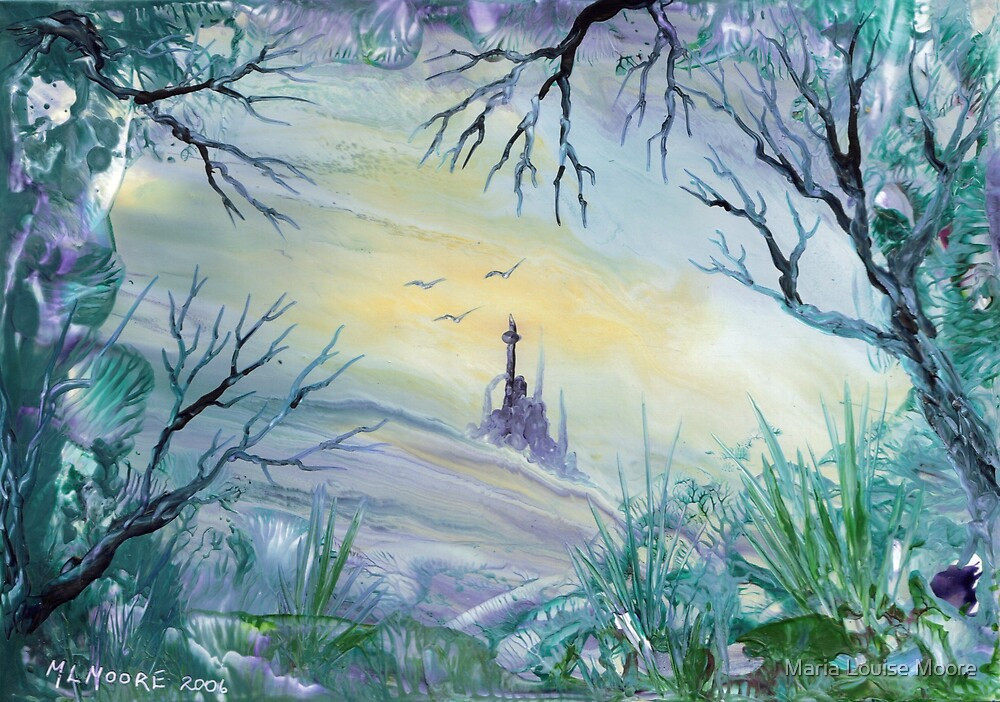Winter Castle by Maria Louise Moore