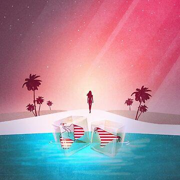 Bikini Strand von schwebewesen