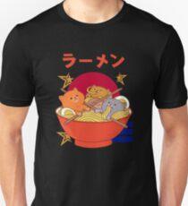 Kawaii Ramen three cat Unisex T-Shirt