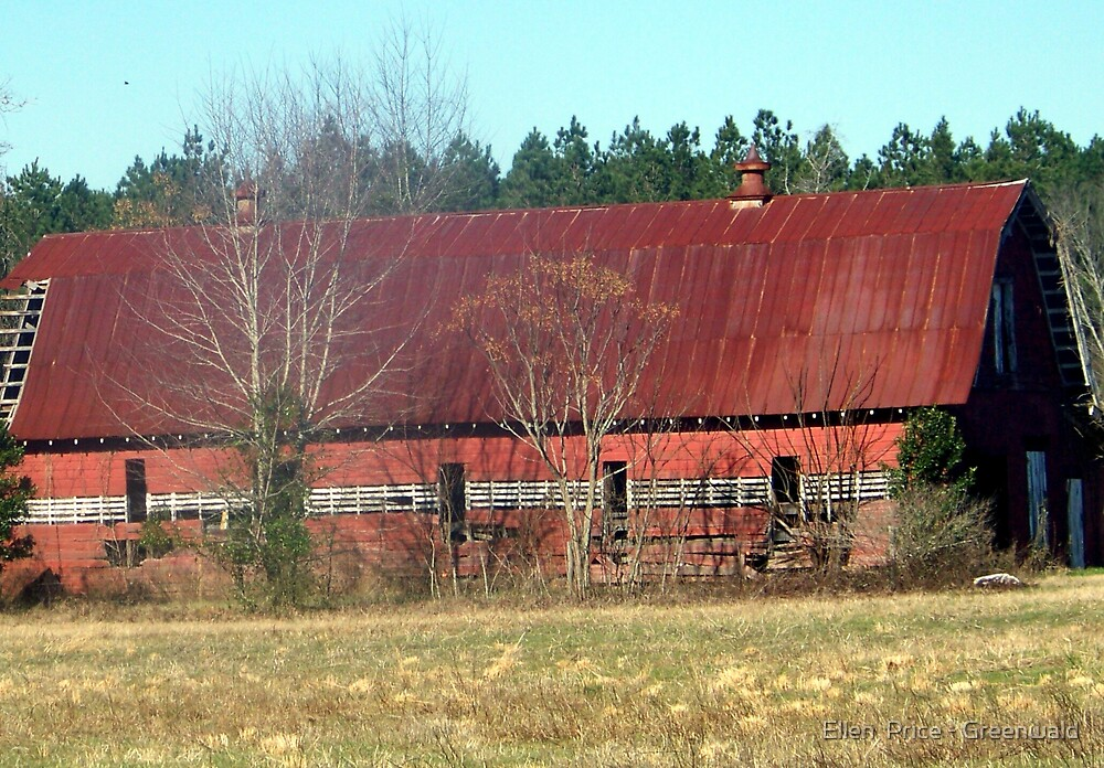 Red Barn  by Ellen  Price - Greenwald