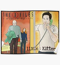X files 11X06 Kitten by Mimie  Poster