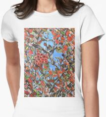HAWTHORN BERRIES Women's Fitted T-Shirt