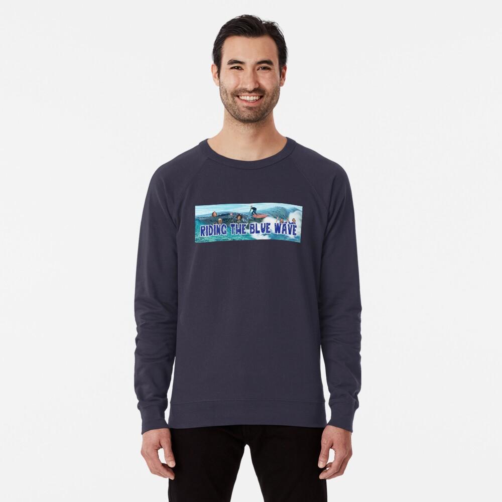 Riding the Blue Wave Lightweight Sweatshirt