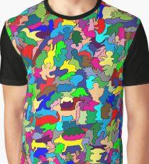 Animal Mat Graphic T-Shirt
