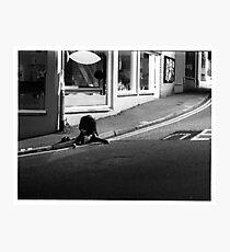 Late one saturday night Photographic Print