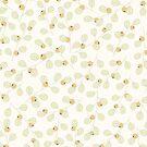 Yellow Berries Pattern by Anastasia Shemetova