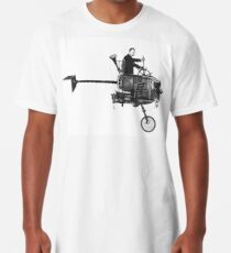 The Time Machine (Steampunk) Long T-Shirt