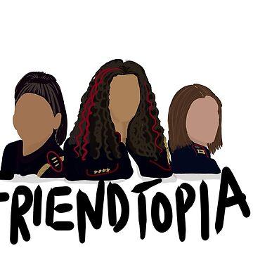 Crazy Ex Girlfriend Friendtopia  by NowTheWeather