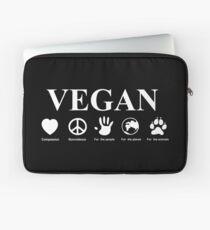 Go Vegan Laptop Sleeve