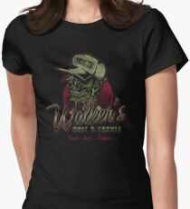 Walker's Bait N' Tackle Women's Fitted T-Shirt