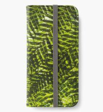 Overlapping Ferns iPhone Wallet/Case/Skin