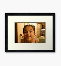 Natalie! Framed Print