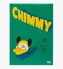 BT21 - CHIMMY (SIGNED VER.) Photographic Print