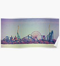 Cedar Point Skyline Poster